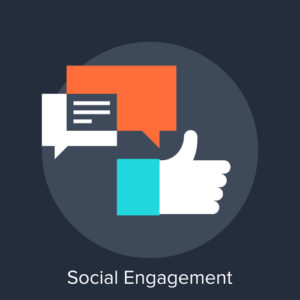growing a remarketing list - social engagement