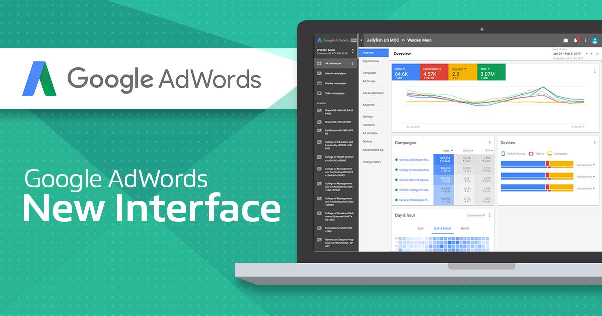 Google Ads Updates 2018 - New Adwords UI